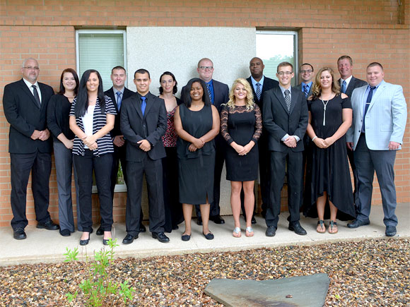 Thirteen students graduate from Basic Law Enforcement program