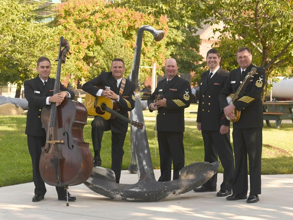 US Navy Country Current Bluegrass Band to Perform Free Concert in Spindale