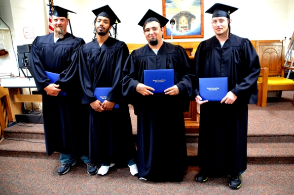 Inmates earn diplomas at Rutherford Correctional Center