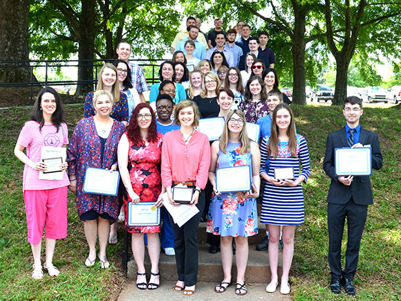 Outstanding students recognized at Awards Day ceremony