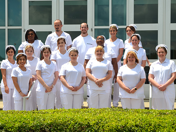Associate Degree Nursing students pinned during special ceremony