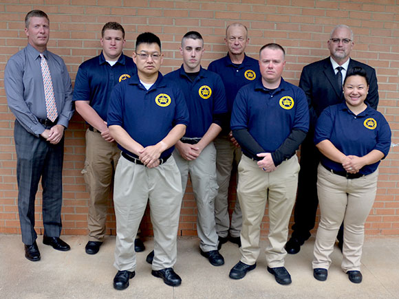 Six students graduate from Basic Law Enforcement program