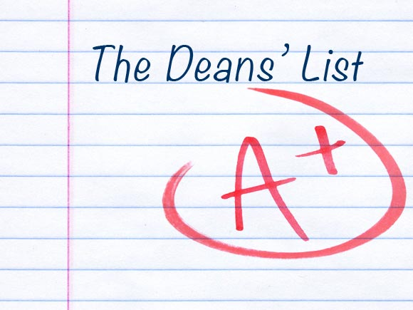 Deans' List for Spring 2019 announced